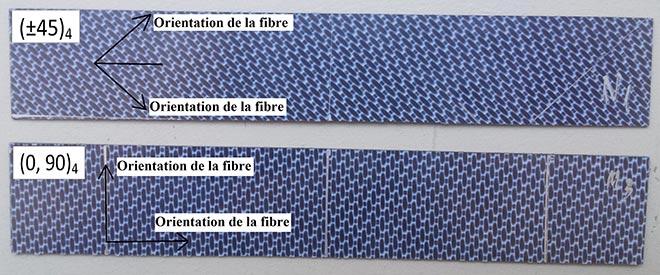Panneaux expérimentaux pour essais de flexion en trois points