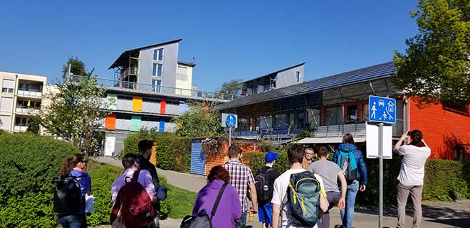Visit of the L'ETS GO mission to the Vauban eco-district