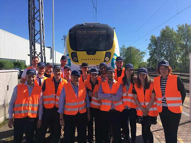 Visite de ka Mission L'ETS GO chez Bombardier en Allemagne