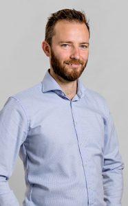 Lucas Hof, professeur au Département de génie mécanique de l'ÉTS