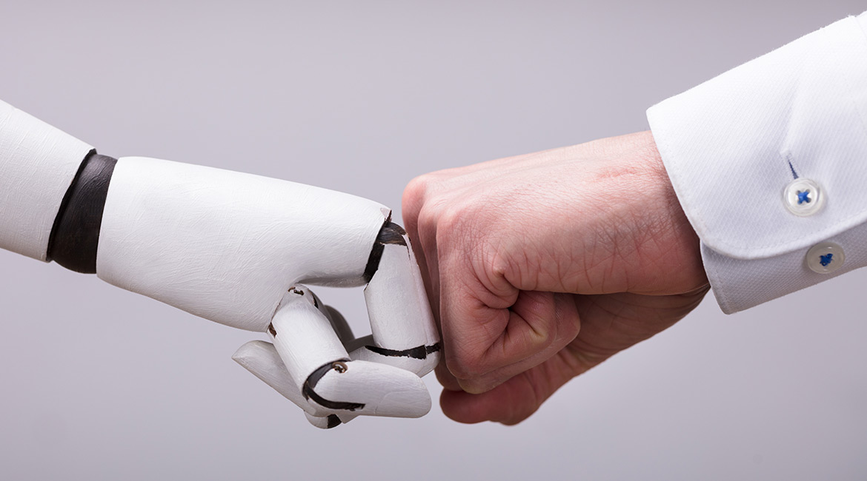 Robots qui interagit avec les humains