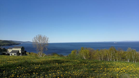 St. Lawrence River in Charlevoix