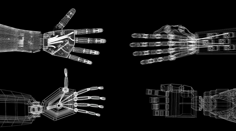 Mains de robots