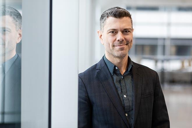 Ghyslain Gagnon, professeur en génie électrique à l'École de technologie supérieure