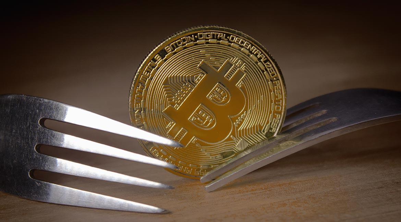 Apparition de fourches dans le réseau bitcoin