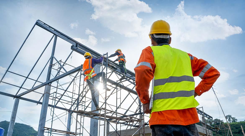 Gestion d'un chantier de construction