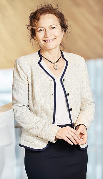 Ivanka Iordanova, professeure au Département de génie de la construction de l'École de technologie supérieure