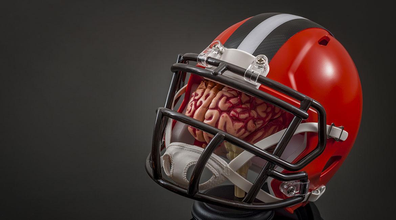 Protection du cerveau au football