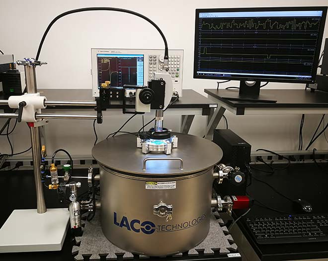 Setup for resonance characterization