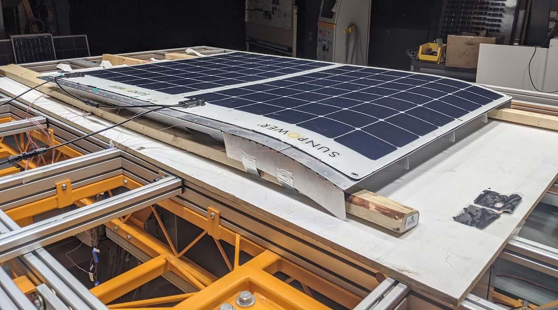 Panneau solaire de CAPSolar