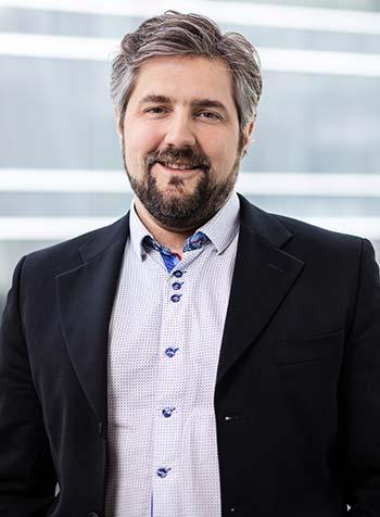 David St-Onge, professeur à l'ÉTS