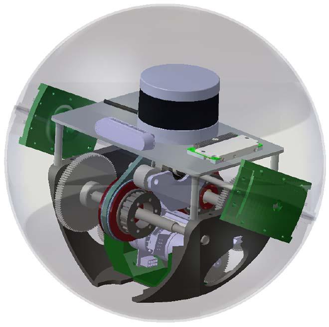 Un robot sphérique sauteur pour l'exploration de la Lune et de Mars