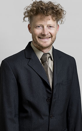 Matthew Toews, professor in the Systems Engineering Department at ÉTS
