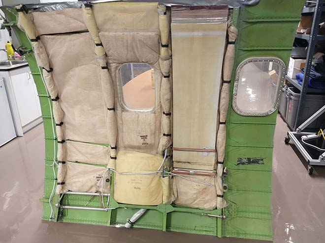 sound package for aircraft