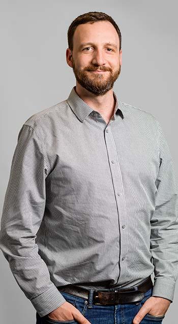 Olivier Doutres, professor in the Mechanical Engineering Department at École de technologie supérieure.