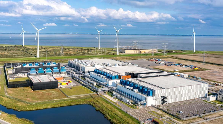 Google's data center in the Netherlands