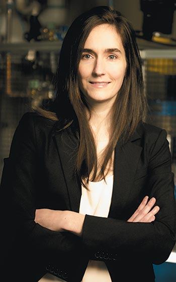 Martine Dubé, professor in the Department of Mechanical Engineering at École de technologie supérieure