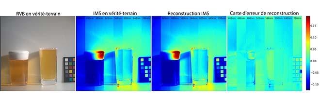 Reconstruction d'images IMS